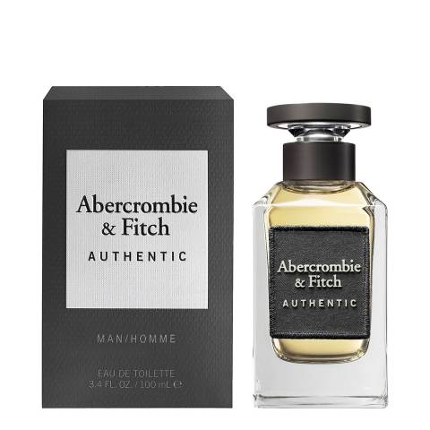 Abercrombie & Fitch Authentic for Men EDT Spray 100ml