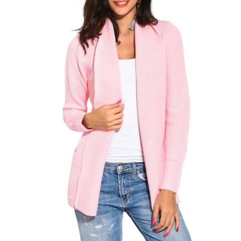 William De Faye Pink Cashmere/Wool Blend Jacket