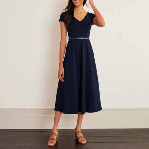 Boden Belle V-neck Ottoman Dress