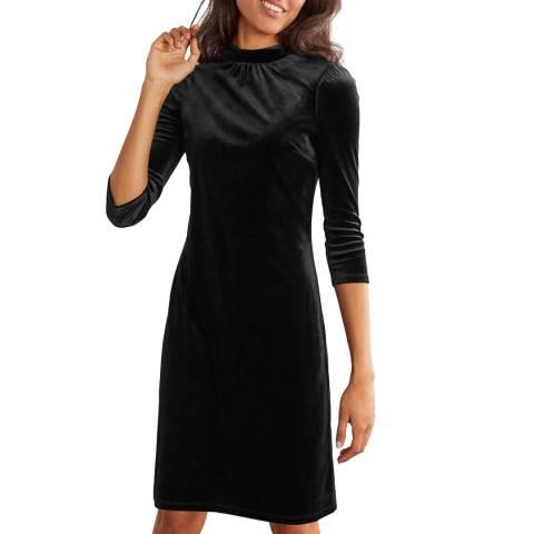 Boden Livia Velvet Shift Dress
