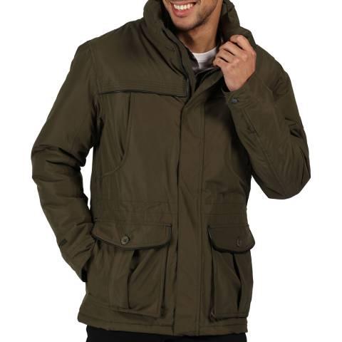 Regatta Dark Khaki Rawson Insulated Waterproof Jacket