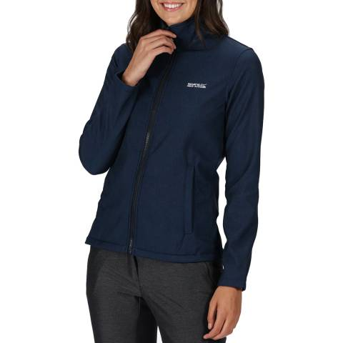Regatta Women's Navy Marl Soft Jacket