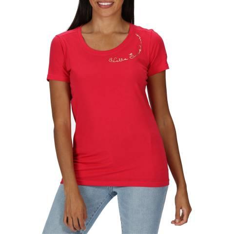 Regatta Virtual Pink Cotton T-Shirt