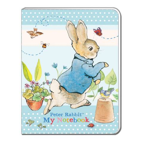 Peter Rabbit Pastel Stripes A6 Soft Cover Note Book