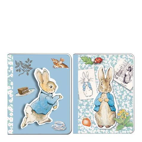 Peter Rabbit Pin Up A6 Soft Cover Note Book