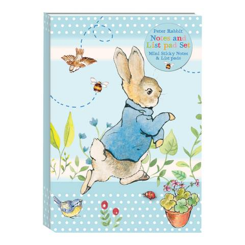 Peter Rabbit Pastel Stripes Things To Do Folder/Sticky Notes