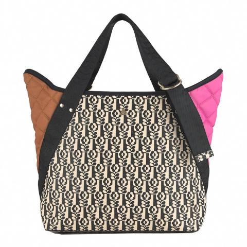 Orla Kiely Onyx Gondola Shoulder Bag