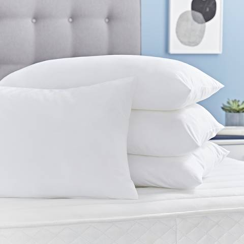 Silentnight Superwash 4 Pack of Pillows