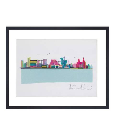 Ilona Drew The Liverpool Skyline