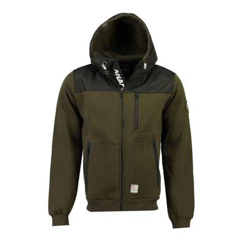 Anapurna Khaki Lightweight Hooded Jacket