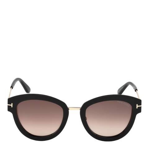 Tom Ford Women's Black/Purple Tom Ford Sunglasses 52mm