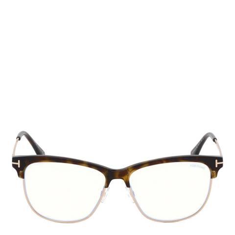 Tom Ford Women's Havana Tom Ford Glasses 52mm