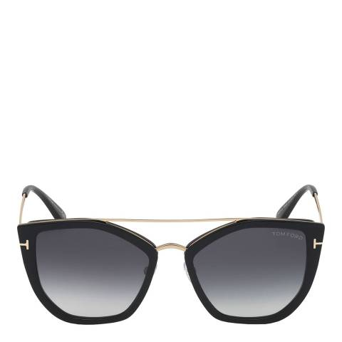 Tom Ford Women's Gold/Brown Tom Ford Sunglasses 54mm