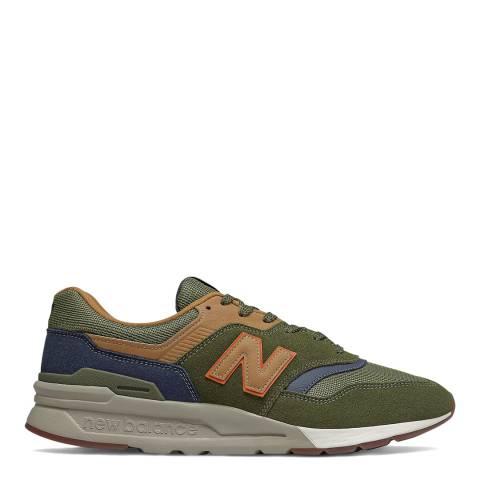 New Balance Khaki Green 997 Sneaker