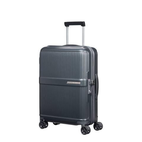 Samsonite Metallic Grey Dorsett Spinner Suitcase 55cm