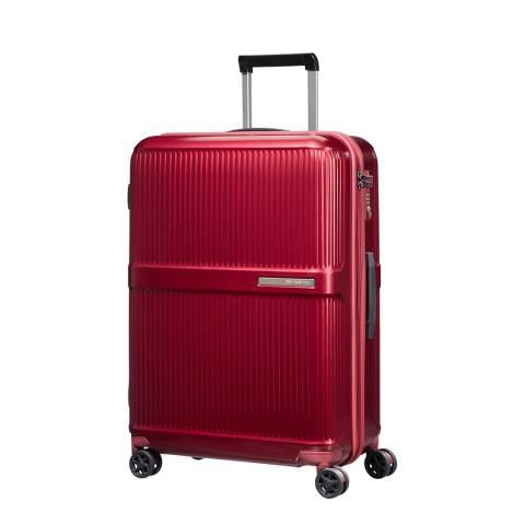 Samsonite Metallic Red Dorsett Spinner Suitcase 66cm