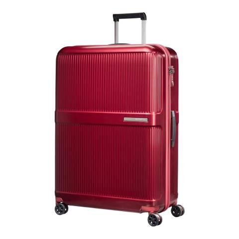 Samsonite Metallic Red Dorsett Spinner Suitcase 78cm