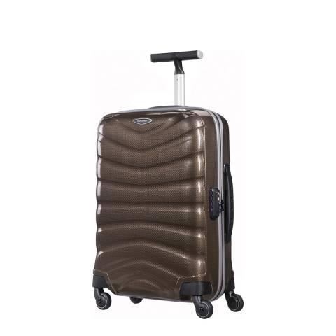 Samsonite Brown Firelite Spinner Suitcase 55cm