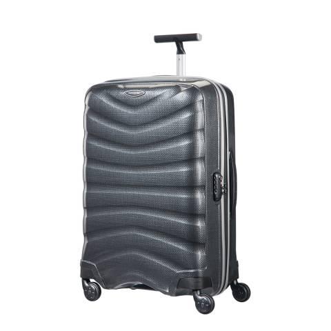 Samsonite Charcoal Firelite Spinner Suitcase 69cm