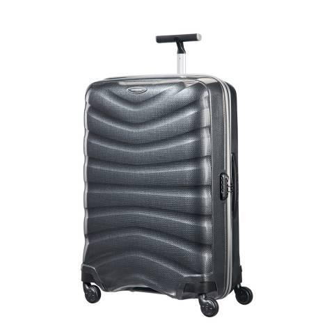 Samsonite Charcoal Firelite Spinner Suitcase 75cm