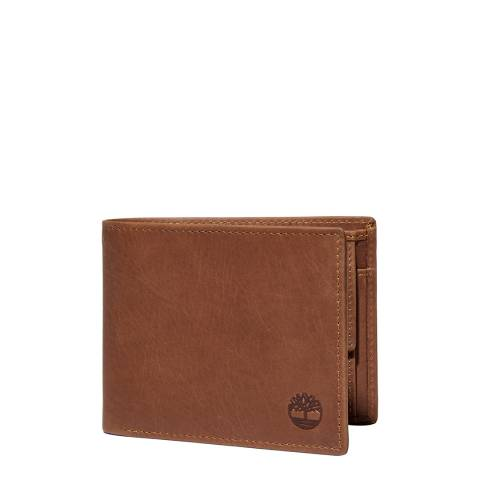 Timberland Brown Large Billfold Wallet