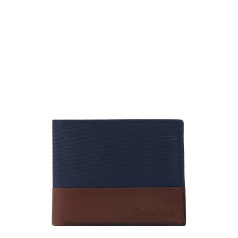 Timberland Dark Sapphire Leather Billford Wallet