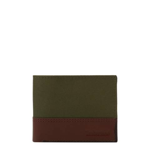 Timberland Grape Leaf Leather Billford Wallet