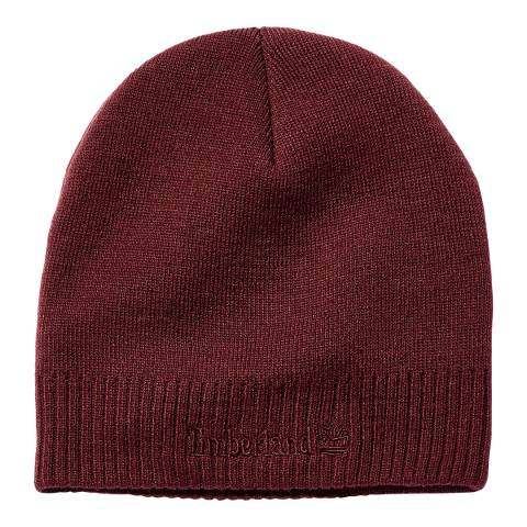 Timberland Port Royale Knit Logo Beanie