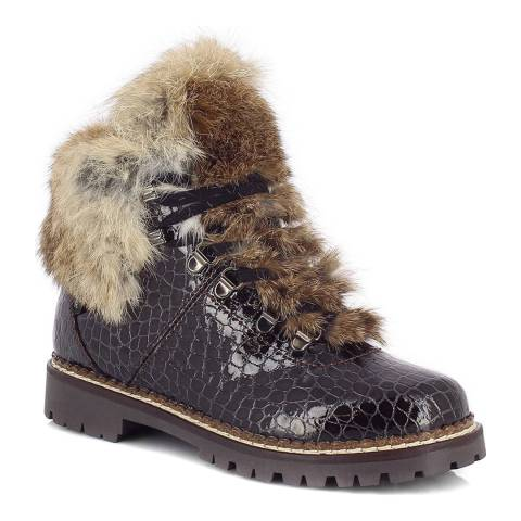Kimberfeel Brown Croco Valberg Boots
