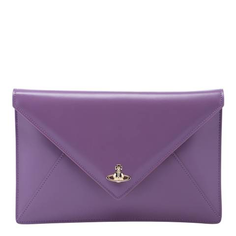 Vivienne Westwood Purple Private Monogram Pouch