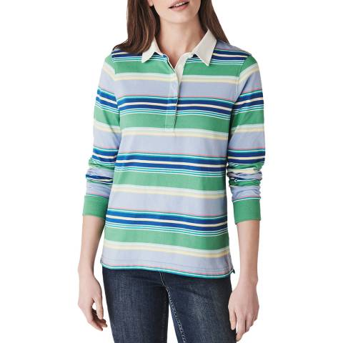Crew Clothing Multicoloured Cotton Rugby Shirt