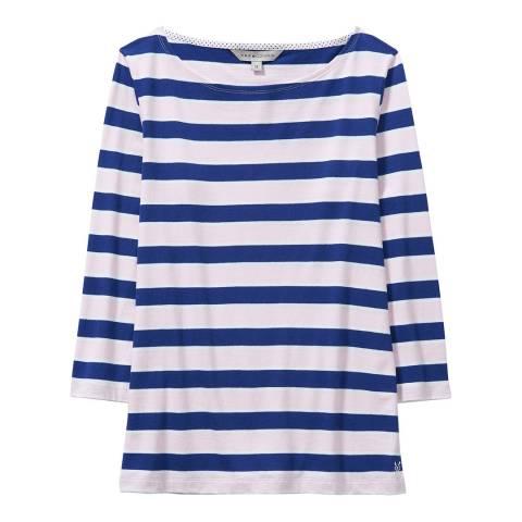 Crew Clothing Breton Stripe Cotton Top