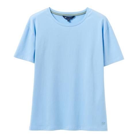 Crew Clothing Blue Cotton T-Shirt