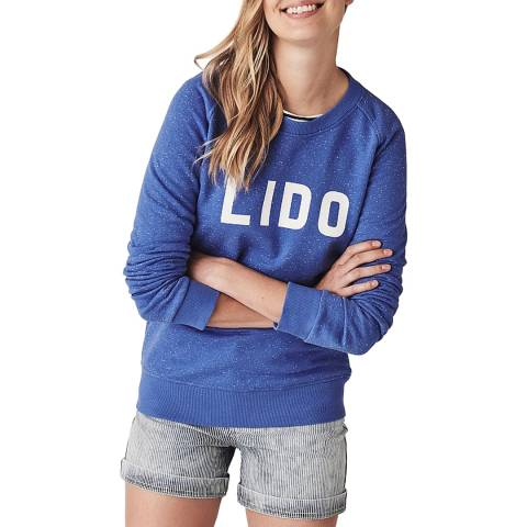Crew Clothing Graphic Nepped Sweatshirt