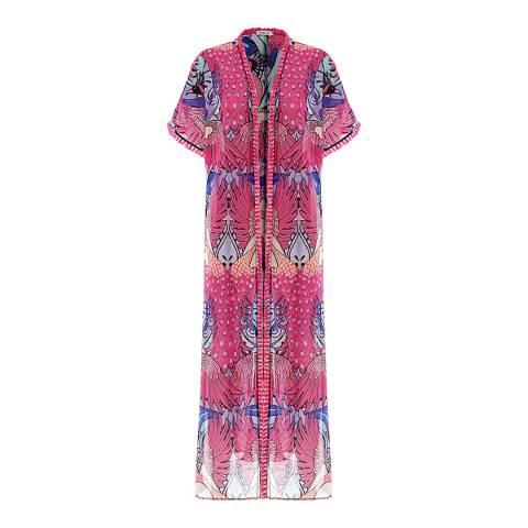 Paolita Multi Pavo Real Maxi Kimono