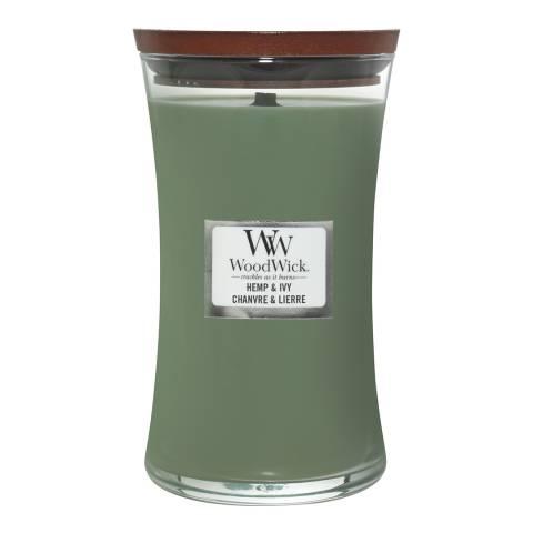 Woodwick Woodwick Large Jar Hemp And Ivy