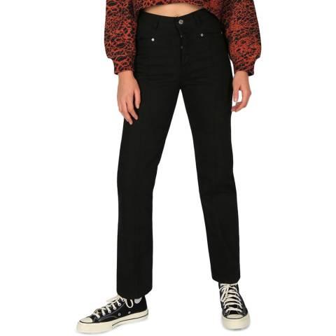Bolongaro Trevor Black Madonna Straight Jeans