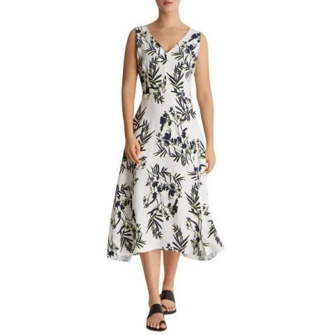 Fenn Wright Manson Black/White Fern Midi Dress