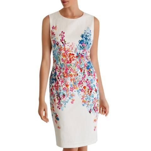 Fenn Wright Manson Ivory Coral Reef Dress