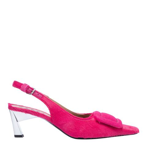 Marni Lipstick Pink Slingback Pump