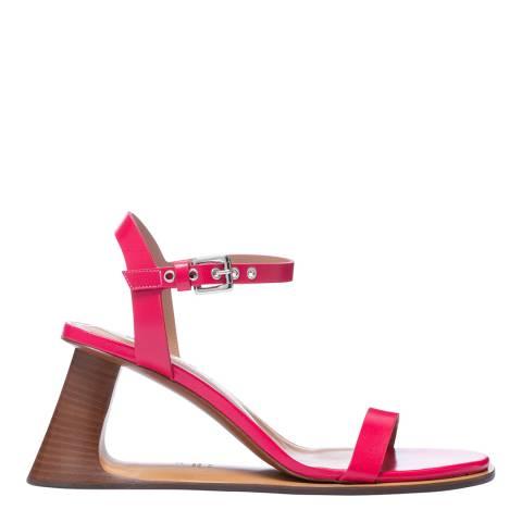 Marni Raspberry Single Strap Sandal