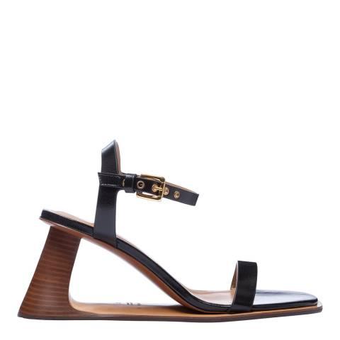 Marni Black Single Strap Sandal