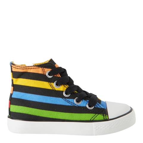 United Colors of Benetton Baby Multi-Colour Striped Trainers