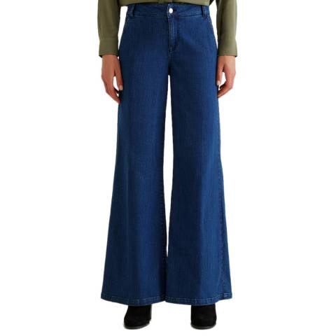 United Colors of Benetton Flared Stretch Trousers
