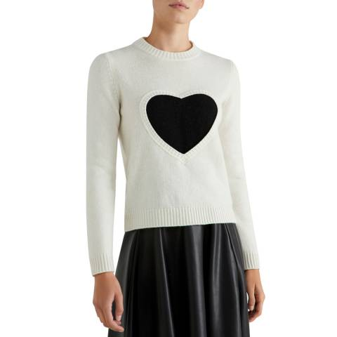 United Colors of Benetton Long Sleeve Crew Neck Sweater