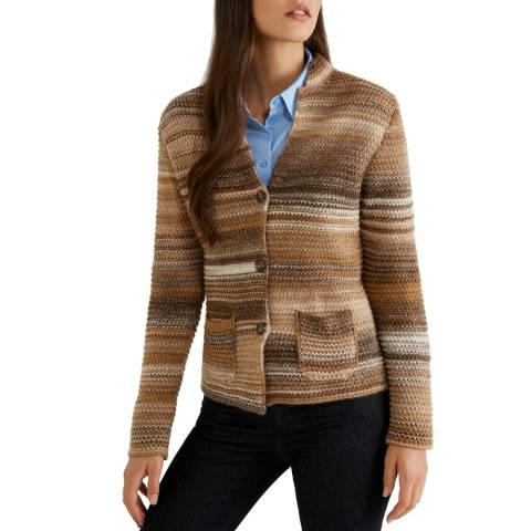 United Colors of Benetton Knitted Multi Coloured Jacket