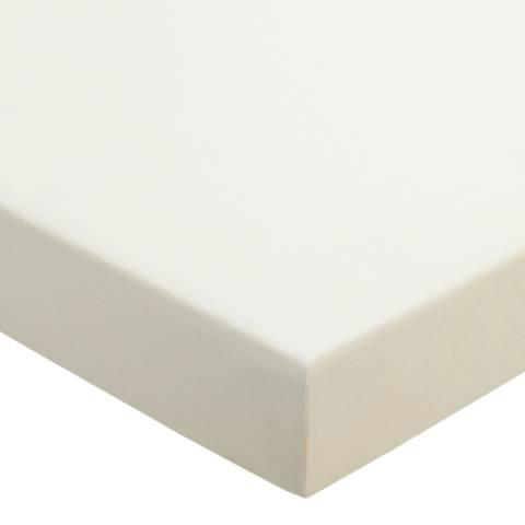 Sanderson Options 220TC King Fitted Sheet, Ivory