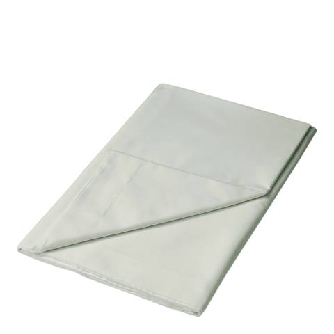 Sanderson Options King Flat Sheet, Silver