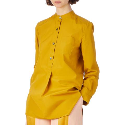 Marni Yellow Button Through Cotton Shirt