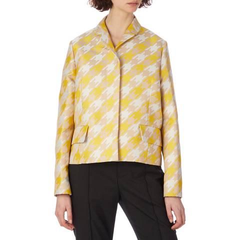 Marni Yellow Houndtooth Jacket